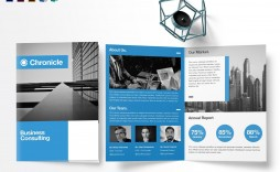 001 Staggering Half Fold Brochure Template Free High Resolution  Blank Microsoft Word