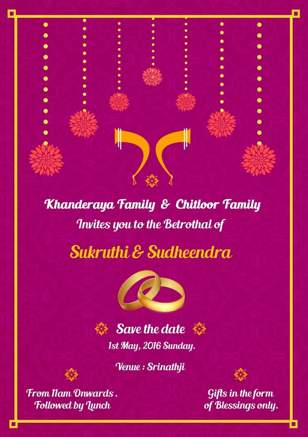 001 Staggering Indian Wedding Invitation Template Photo  Psd Free Download Marriage Online For FriendLarge