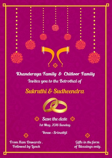 001 Staggering Indian Wedding Invitation Template Photo  Psd Free Download Marriage Online For Friend360