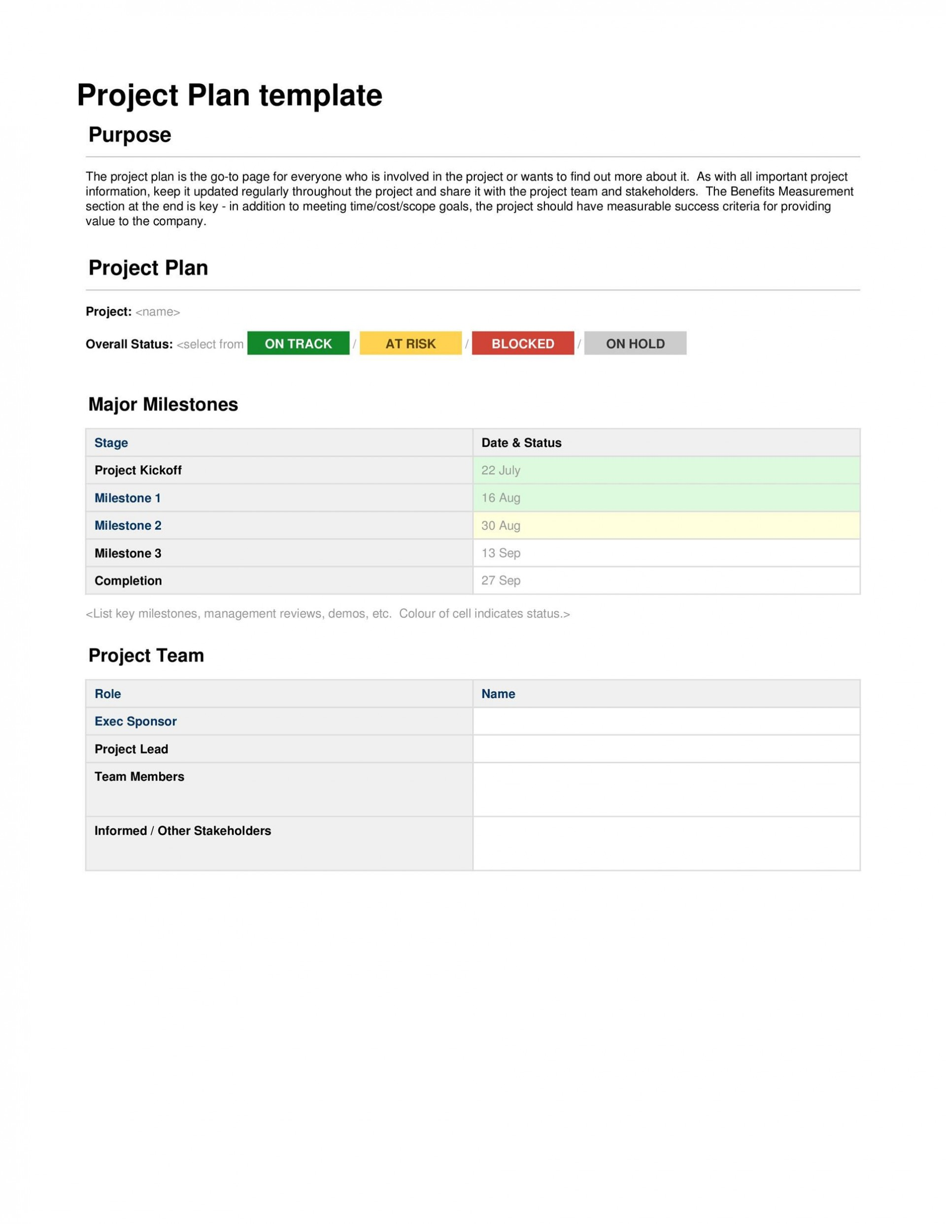 001 Staggering Project Management Template Free Word High Def  Plan Ms-word Simple1920