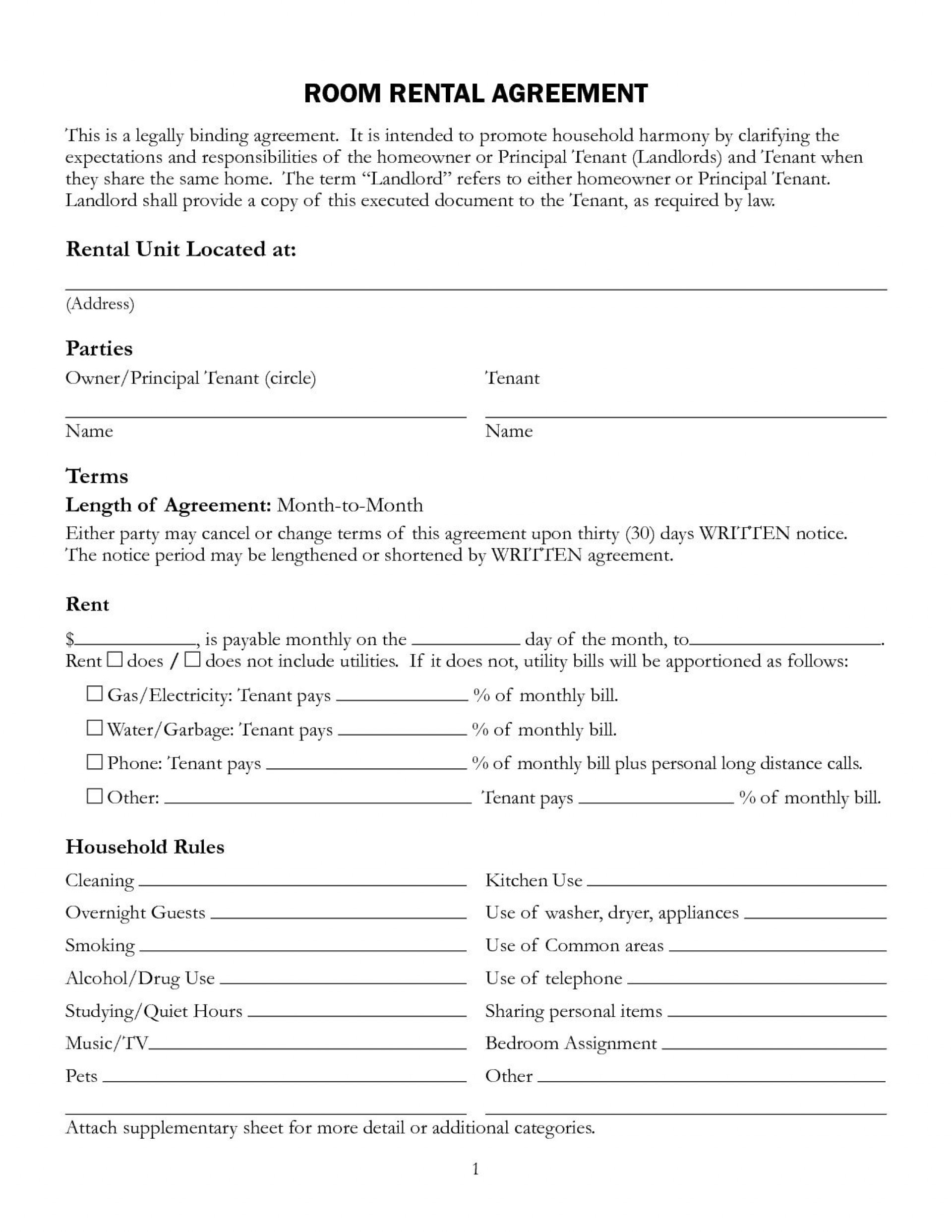 001 Staggering Rental Agreement Template Doc Highest Clarity  Tenancy Uk Word Document1920