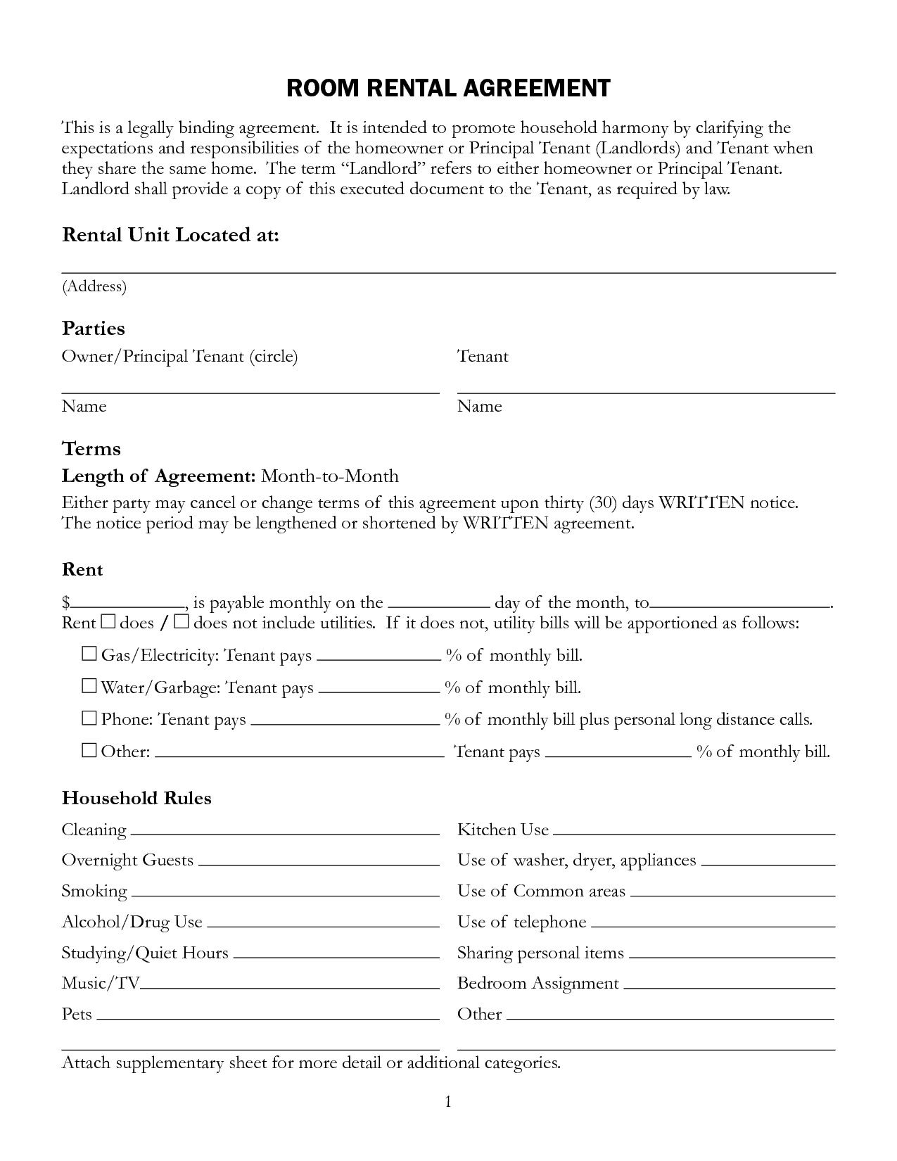 001 Staggering Rental Agreement Template Doc Highest Clarity  Tenancy Uk Word DocumentFull