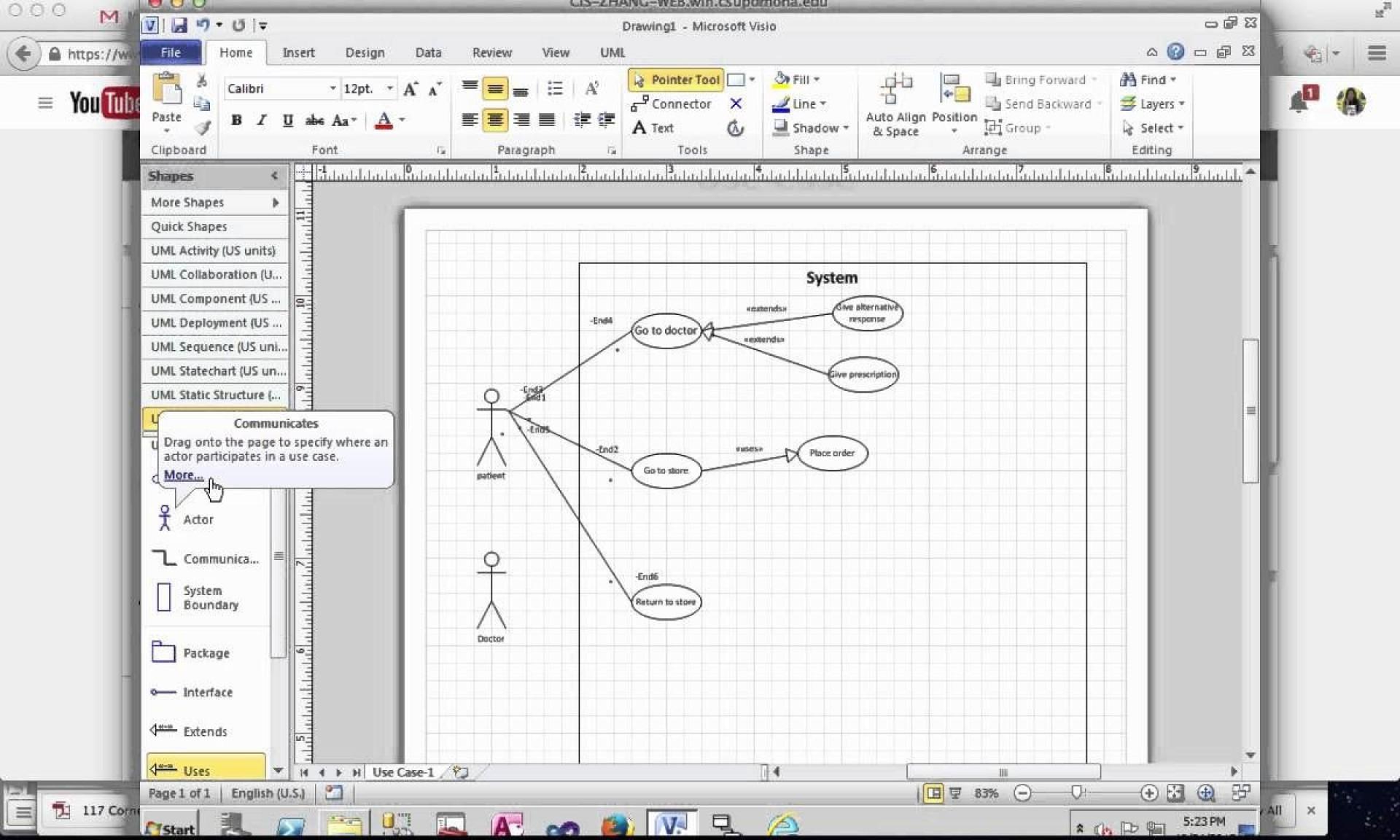001 Staggering Use Case Diagram Template Visio 2010 Photo  Uml Model Download Clas1920