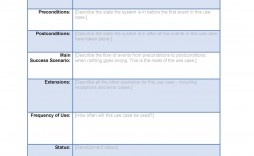 001 Staggering Use Case Template Word High Def  Specification Description Test Document