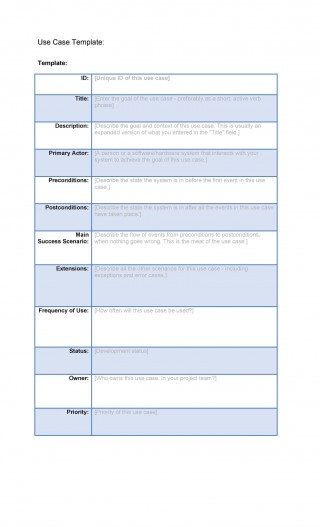 001 Staggering Use Case Template Word High Def  Doc Test320