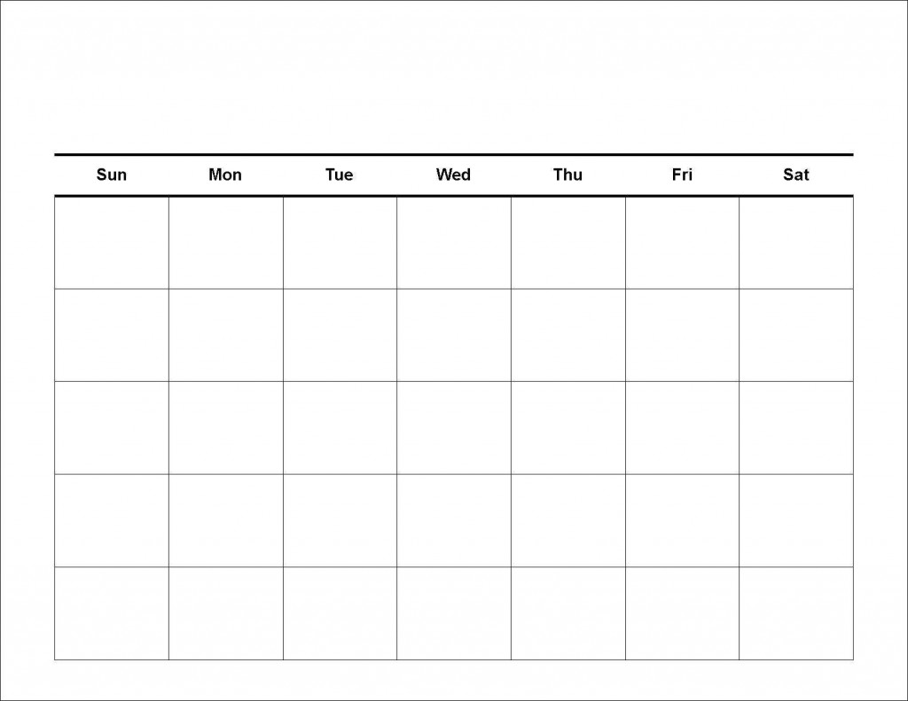 001 Stirring Blank Weekly Calendar Template Design  Word Microsoft 2019Large