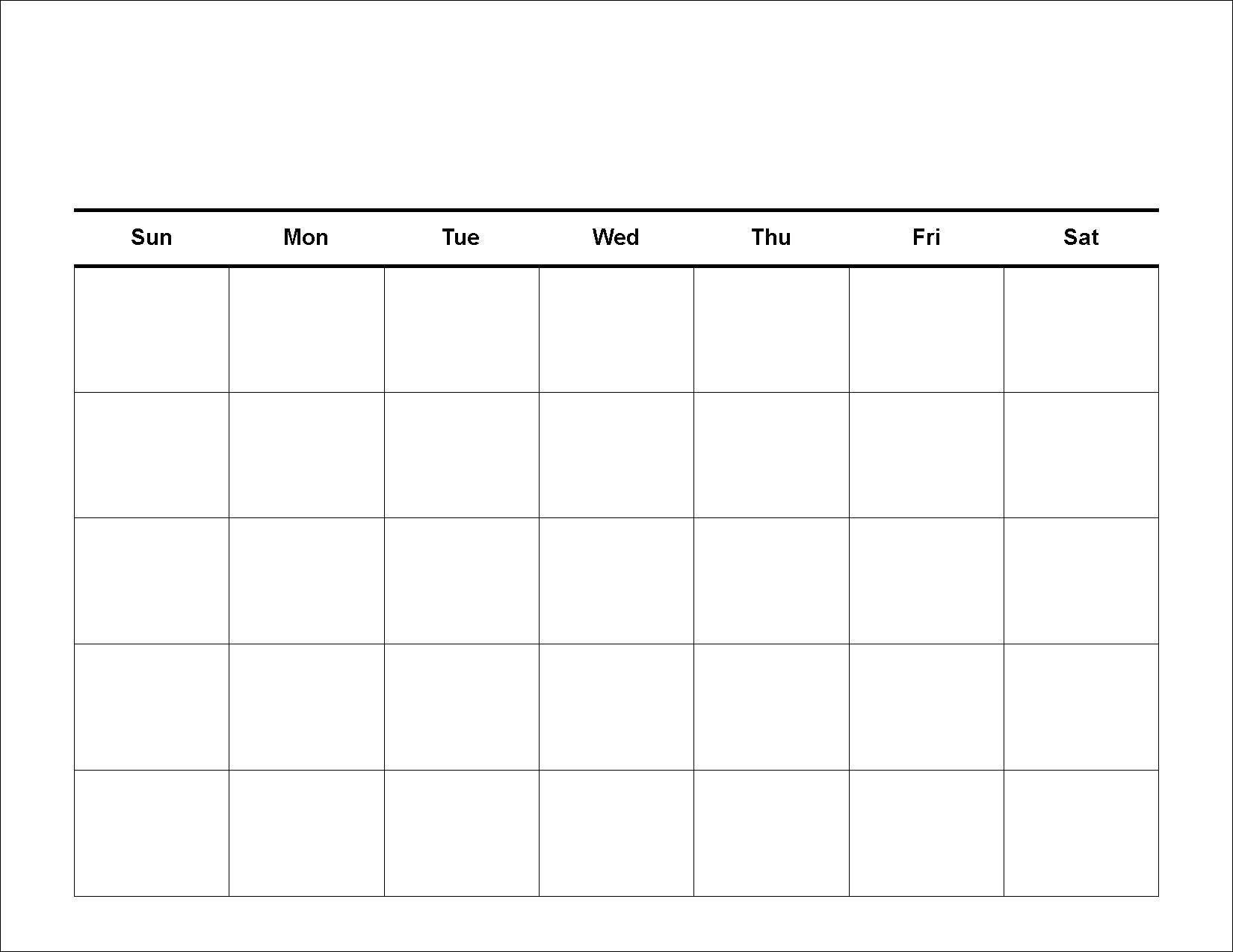 001 Stirring Blank Weekly Calendar Template Design  Word Microsoft 2019Full