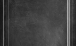 001 Stirring Chalkboard Invitation Template Free Idea  Birthday Download