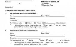 001 Stirring Child Custody Agreement Template Picture  Templates Pennsylvania Uk Free