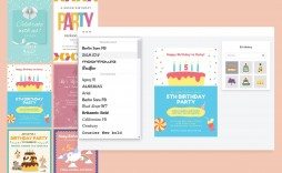 001 Stirring Free Online Birthday Invitation Card Maker With Name And Photo Image