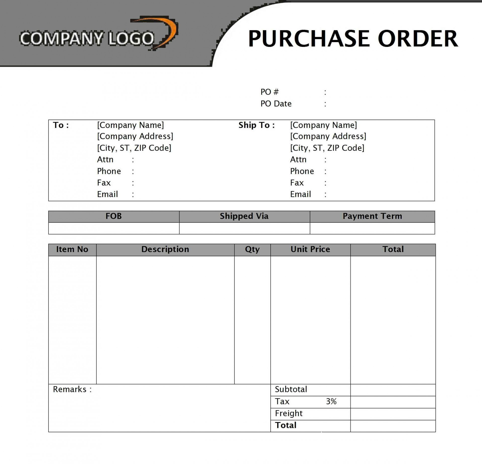 001 Stirring Free Order Form Template Word Picture  T Shirt Job Application Registration1920