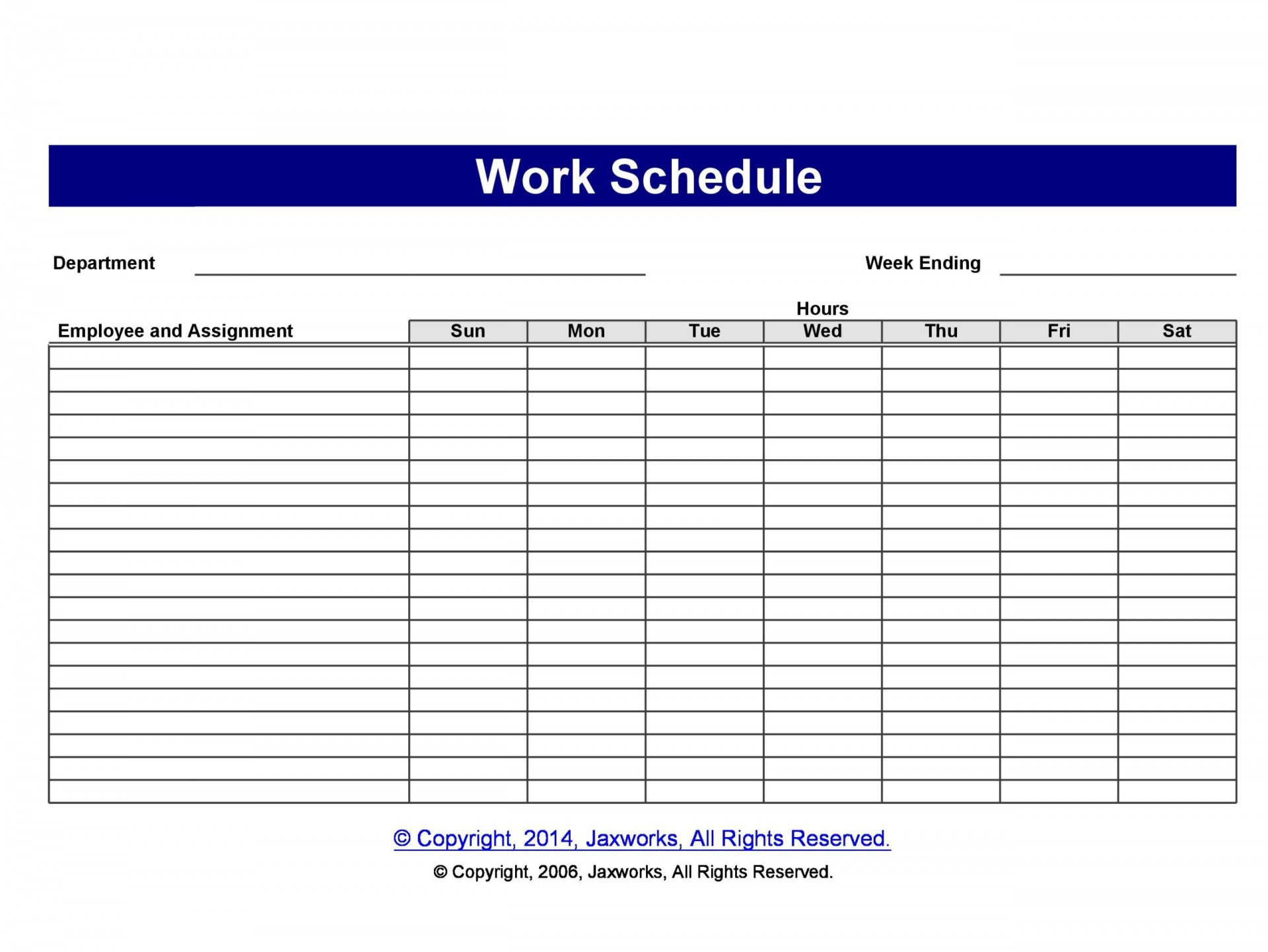 001 Stirring Free Staff Scheduling Template Design  Templates Excel Holiday Planner Printable Weekly Employee Work Schedule1920