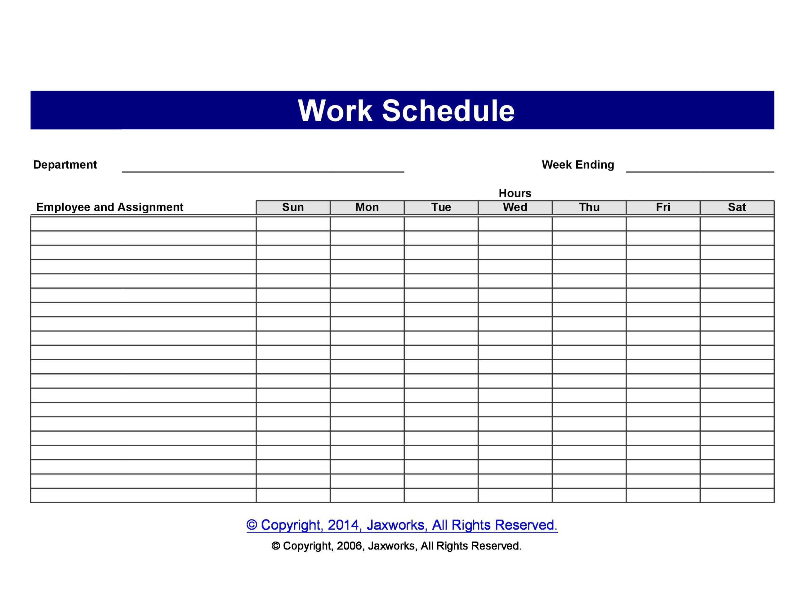 001 Stirring Free Staff Scheduling Template Design  Templates Excel Holiday Planner Printable Weekly Employee Work ScheduleFull