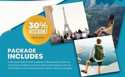 001 Stirring Free Travel Flyer Template Download Photo