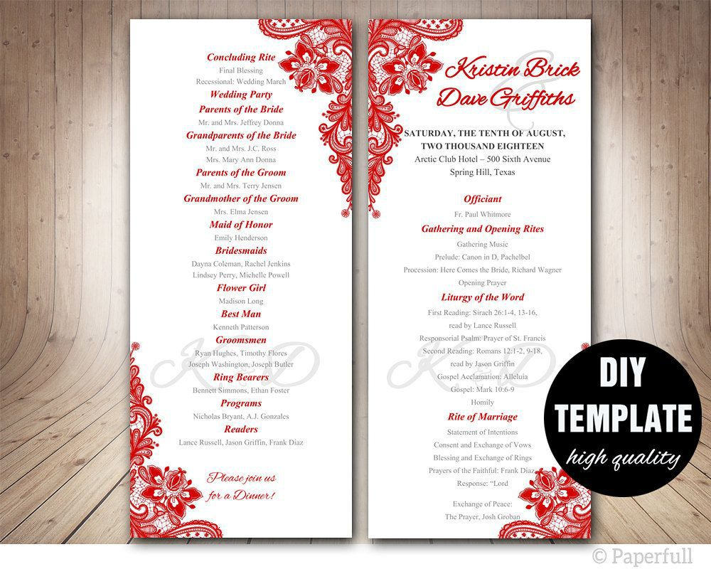 001 Stirring Free Wedding Program Template For Word High Def  Download Fan Microsoft Downloadable ReceptionFull