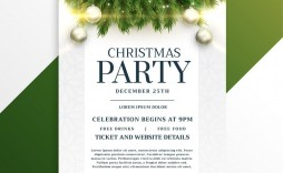 001 Stirring Holiday Party Flyer Template Free High Resolution  Office