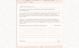 001 Stirring Photography Release Form Template Photo  Image Australia Canada