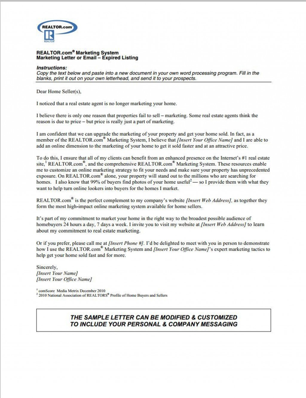 001 Stirring Real Estate Marketing Letter Template Design  TemplatesLarge