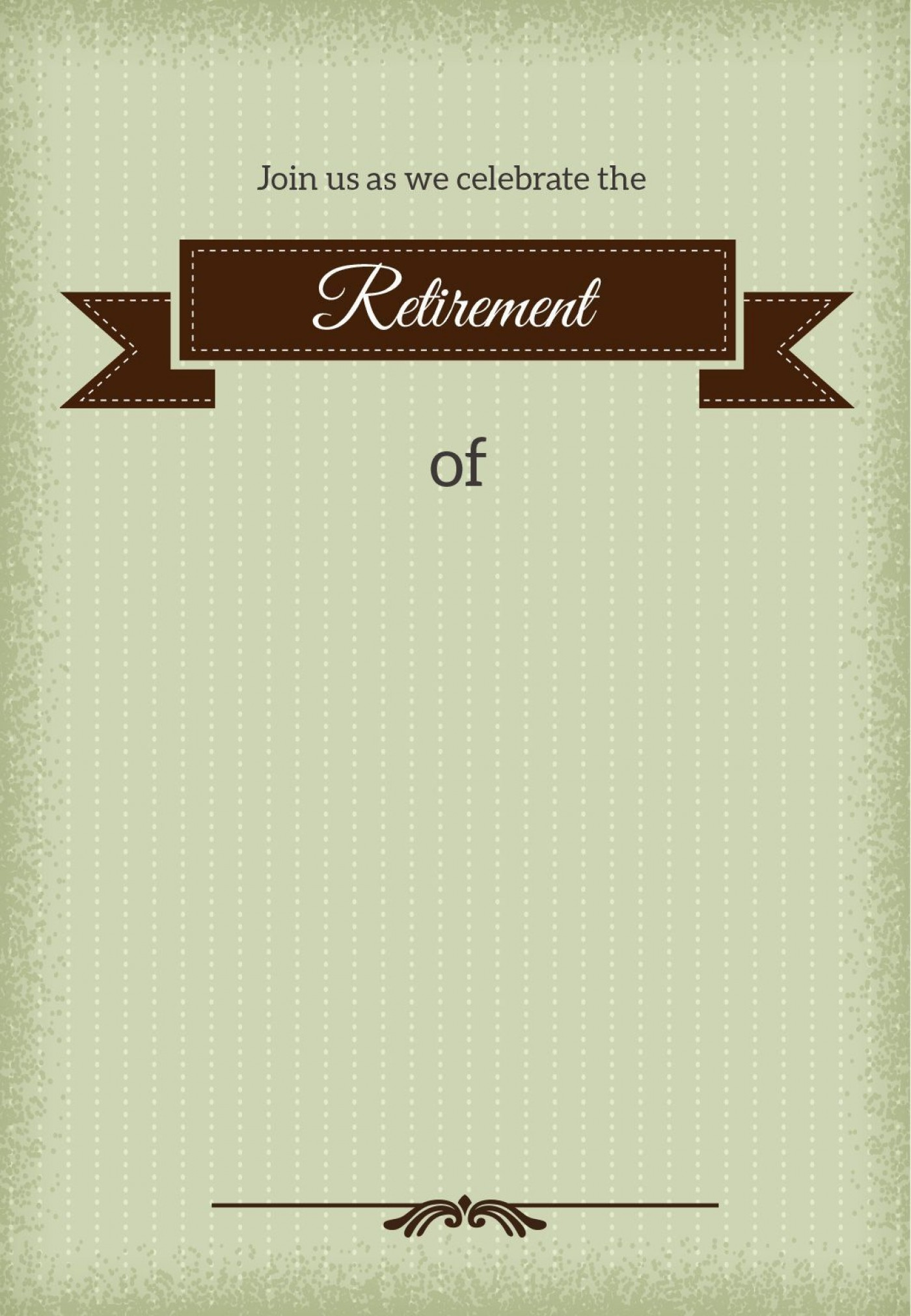 001 Stirring Retirement Invitation Template Free Idea  Party Printable For Word1400
