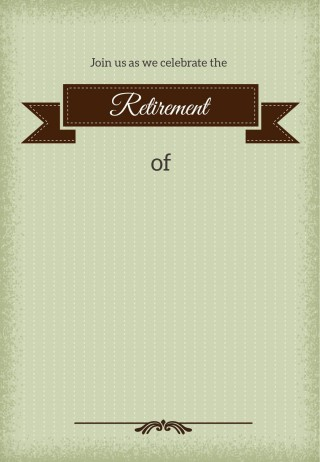 001 Stirring Retirement Invitation Template Free Idea  Party Printable For Word320