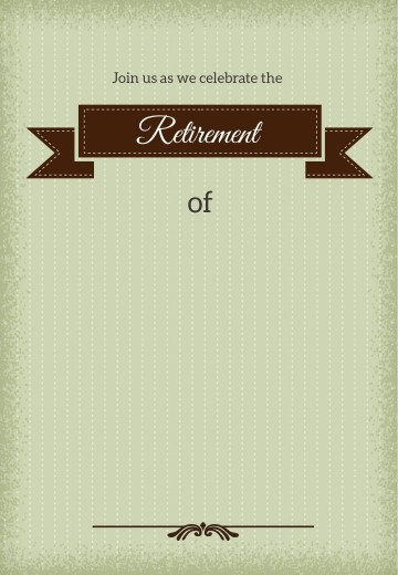 001 Stirring Retirement Invitation Template Free Idea  Party Printable For Word360