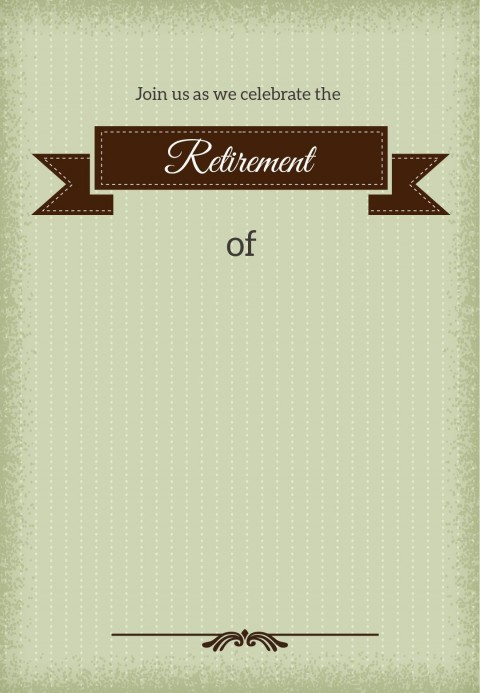 001 Stirring Retirement Invitation Template Free Idea  Party Printable For Word480