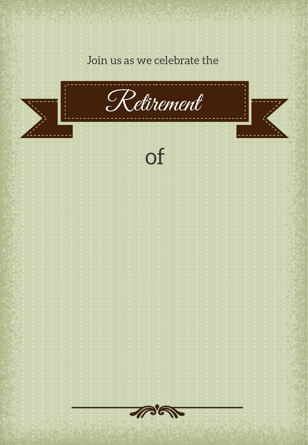 001 Stirring Retirement Invitation Template Free Idea  Party Word DownloadFull