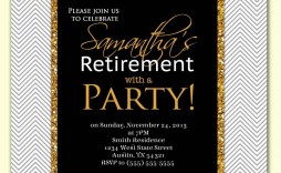 001 Stirring Retirement Party Invitation Template High Resolution  Templates For Free Nurse M Word