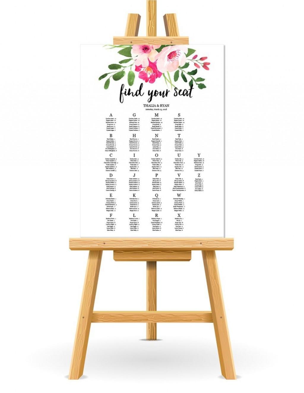 001 Stirring Wedding Seating Chart Template Concept  Templates Plan Excel Word MicrosoftLarge