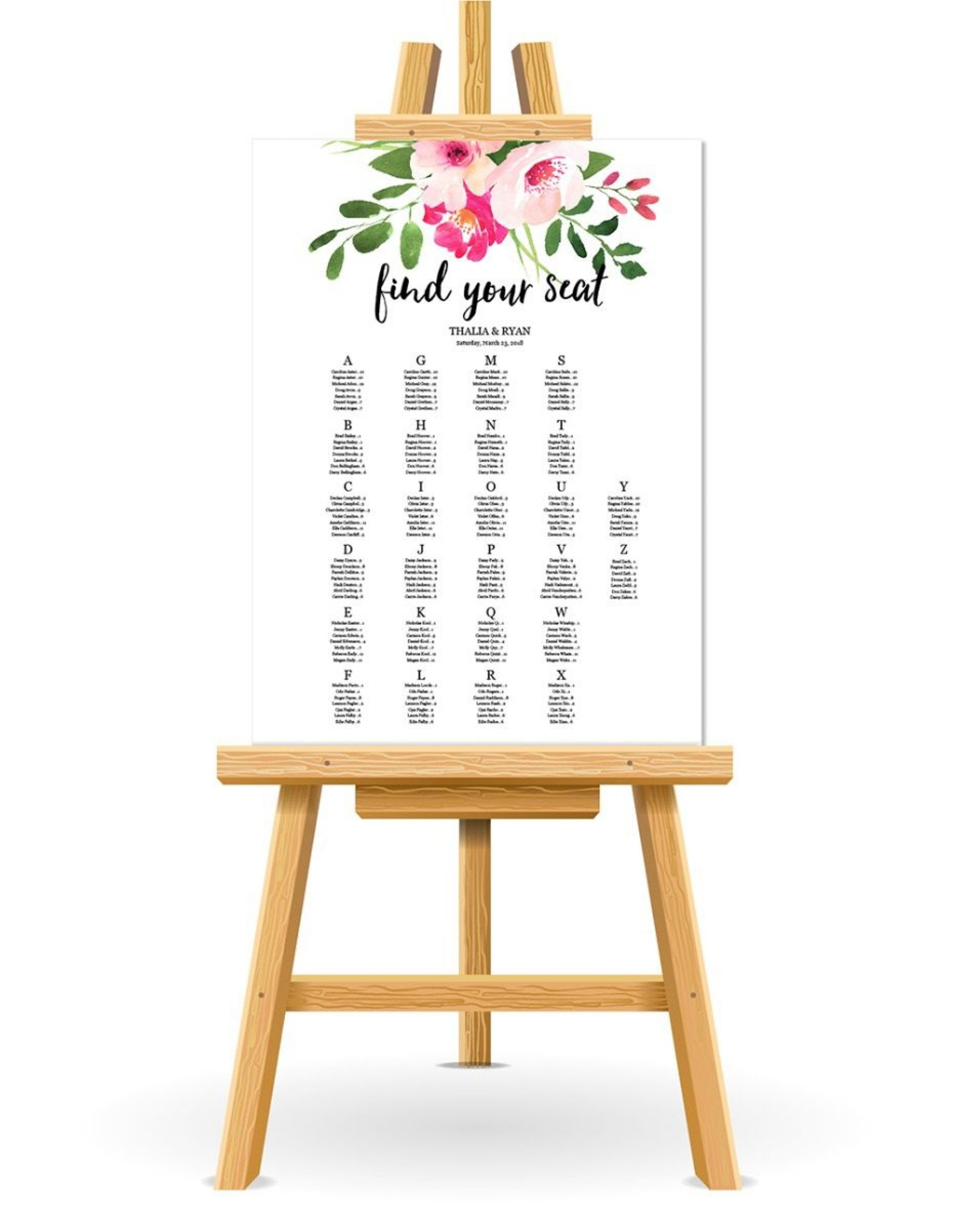 001 Stirring Wedding Seating Chart Template Concept  Templates Plan Excel Word Microsoft1920