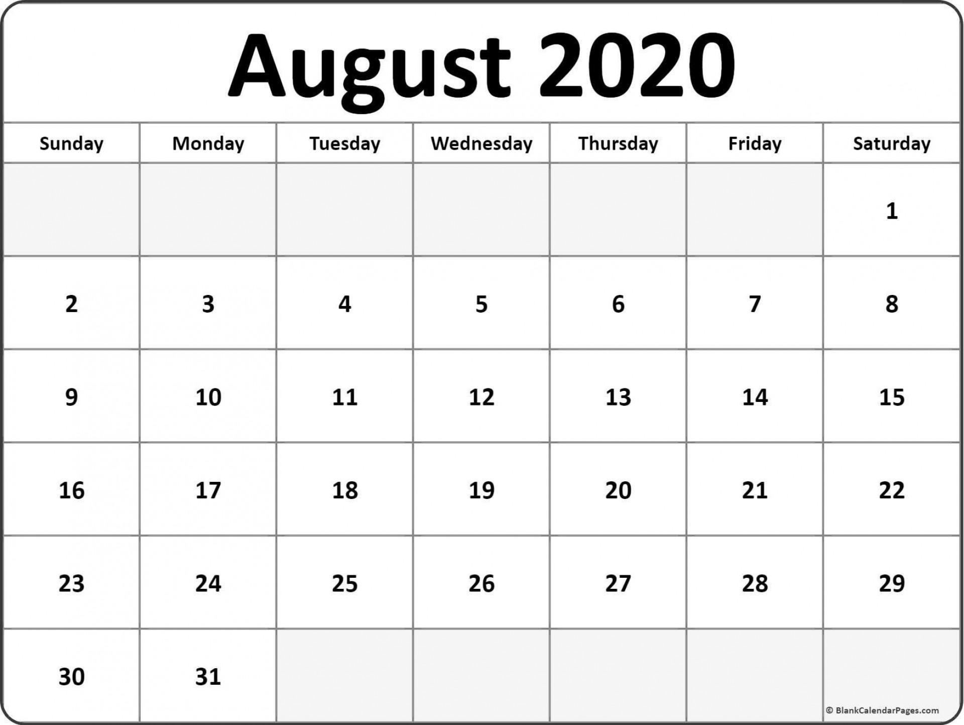 001 Striking 2020 Calendar Template Excel High Def  Microsoft Editable In Format Free Download1920