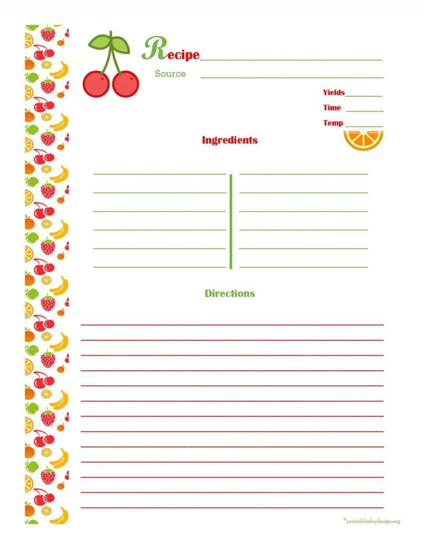 001 Striking 3 X 5 Recipe Card Template Microsoft Word Idea Large