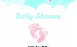 001 Striking Baby Shower Invitation Template Editable High Def  Free Surprise In Gujarati Twin