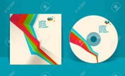 001 Striking Cd Cover Design Template High Resolution  Free Vector Illustration Word Psd Download