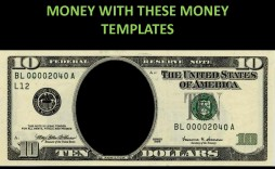001 Striking Customizable Fake Money Template High Def  Free