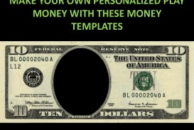 001 Striking Customizable Fake Money Template High Def  Cash Free