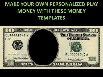 001 Striking Customizable Fake Money Template High Def  Cash Free360