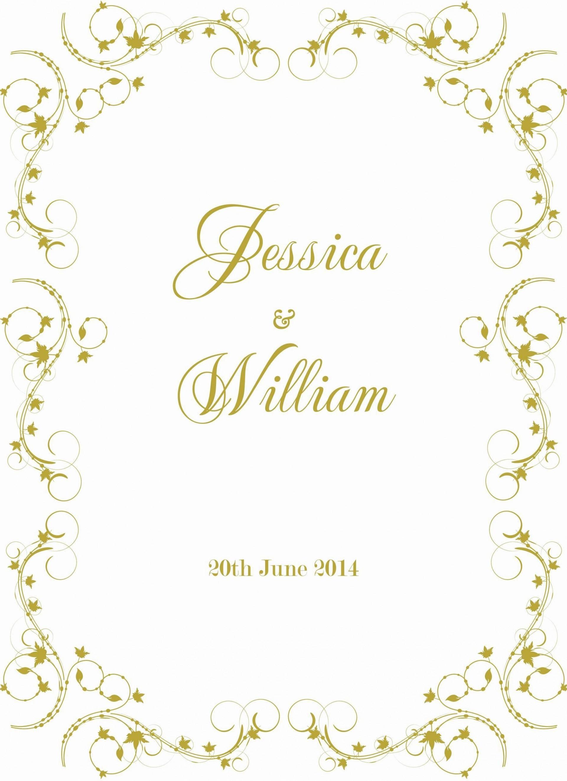 001 Striking Formal Wedding Invitation Template Free Image 1920
