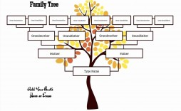 001 Striking Free Editable Family Tree Template High Def  Templates Pdf Powerpoint With Photo