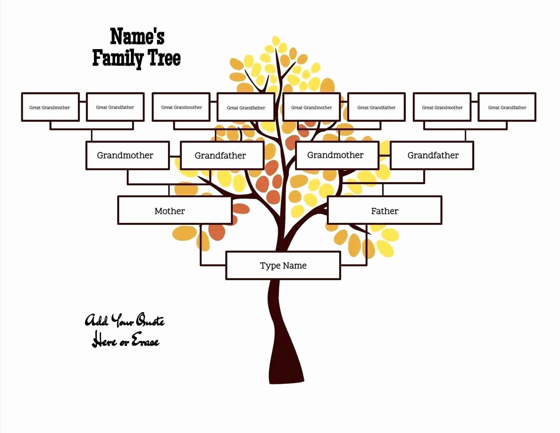 001 Striking Free Editable Family Tree Template High Def  Templates Pdf Powerpoint With PhotoFull