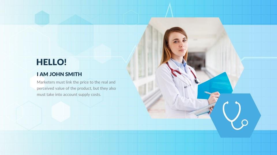 001 Striking Free Nursing Powerpoint Template Highest Clarity  Education Download960