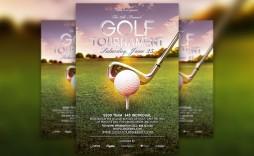 001 Striking Golf Tournament Flyer Template Highest Clarity  Word Free Pdf