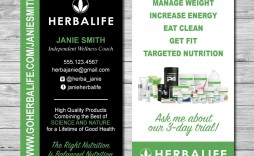 001 Striking Herbalife Busines Card Template High Resolution  Download Free