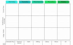 001 Striking Lesson Plan Template For Preschool Design  Teacher Weekly Sample