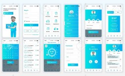 001 Striking Mobile App Design Template Example  Templates Ui Free Online Android Psd