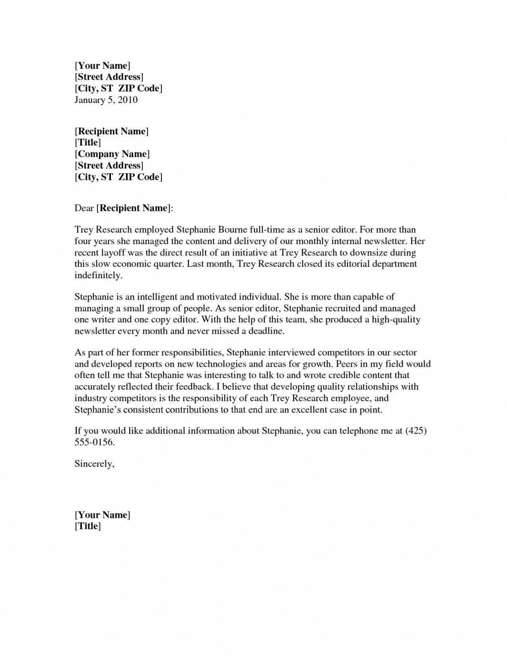 001 Striking Professional Reference Letter Template Word Idea Large