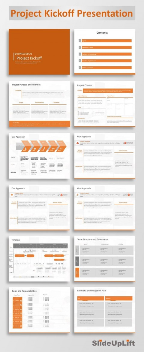 001 Striking Project Kickoff Meeting Powerpoint Template Ppt Highest Clarity  Kick Off Presentation480