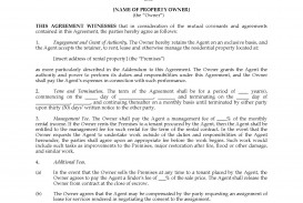 001 Striking Property Management Contract Sample Inspiration  Agreement Template Pdf Company Free Uk