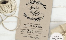001 Striking Rustic Wedding Invitation Template Inspiration  Templates Free For Word Maker Photoshop