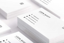 001 Striking Simple Busines Card Template Psd Inspiration  Design In Photoshop Minimalist Free